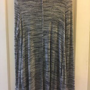 laila jade Sweaters - Long heather gray sweater
